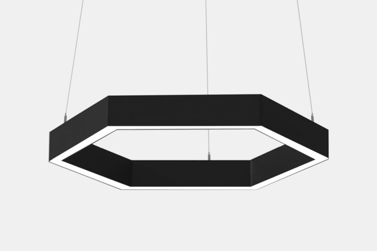 Серия Geks. Многоугольные светодиодные светильники купить в Химках
