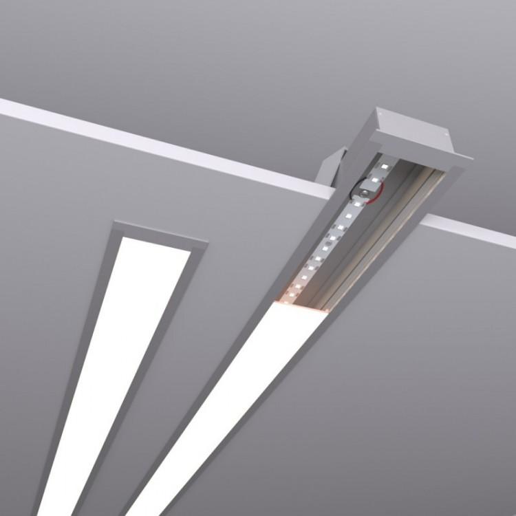 Светодиодное освещение Светодиодные линейные встраиваемые светильники